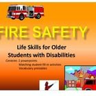 Fire Safety for Secondary Life Skills Students