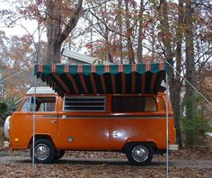 Westfalia Arched Awning for a VW Bus  Vintage Trailer Awnings by Kristi dfoster@bellsouth.net Kristi Foster