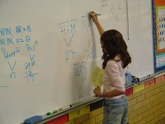"""On this page, click on """"first grade math vocabulary"""" and then a-l and m-z on the following page for some great common core vocabulary posters.  (and the first grade math map also has some great resources listed at the end of each unit.)"""