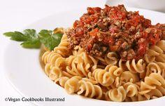 Mushroom Marinara from the vegan cookbook Appetite for Reduction