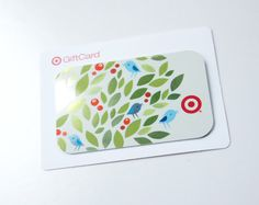 GiftCard design for Target 2013.