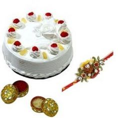 www.flowerstokota.com endeavors in providing the best quality gift hampers for the special occasion of Raksha Bandhan. Now surprise your brother/sister lived in Kota by sending or ordering Rakhi special cakes and flowers that sure express your affection towards your sibling on this Raksha Bandhan. Contact us: +91-8288024441, 8288024442