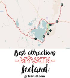 Best attractions in Mývatn and around. Complete roadbook + GPS coordinates. #FreeTravelGuides