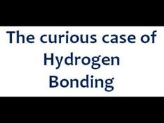 The effects of Hydrogen Bonding for IIT | JEE | AIIMS |  with Sharad Pra...