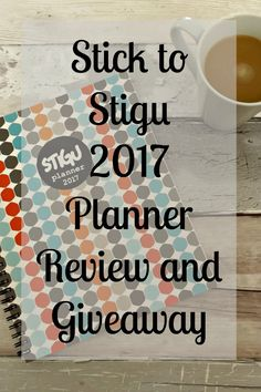 Stick to Stigu 2017 Planner Review and Giveaway