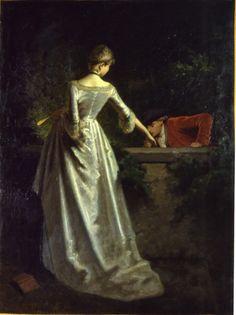 Giuseppe Mazza (1817-1884) - Baciamano di un cavaliere