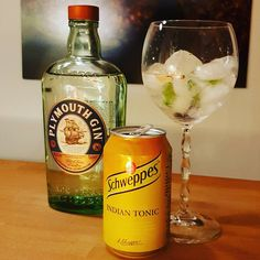 Plymouth Gin. Schweppes Indian Tonic. Coriander. #gintonic #gin #dandywithlens. DandyWithLens.com