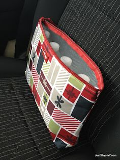 Use the Thermal Zipper Pouch to keep water cool while out in the car.  Even freeze one bottle to keep them cooler.