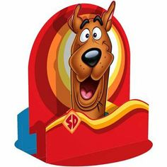 """Scooby Birthday Centerpiece by Factory Card and Party Outlet. $12.99. Our Scooby Doo Centerpiece is made of cardstock, is 12 5/8"""" tall, and assembles easily."""