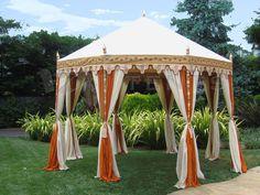 Cream and Honey Glow Pavilion