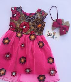 Ankara styles are one of the best common African clothing trends for both men and women of all ages, which it is not that surprising that Ankara Ankara Styles For Kids, African Dresses For Kids, African Print Dresses, African Fashion Ankara, African Print Fashion, Africa Fashion, Latest Ankara Dresses, Kids Frocks, Kid Outfits