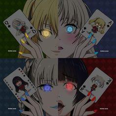 Kakegurui Anime Girlxgirl, Yandere Anime, Animes Yandere, Fanarts Anime, Anime Films, Otaku Anime, Kawaii Anime, Hxh Characters, Japon Illustration