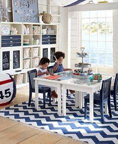 Nice and bright! Kids' playroom!