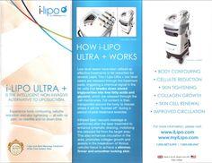 We offer iLipo Ultra +, the intelligent, non-invasive alternative to lipsuction.