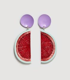 Mango Fruit Earrings