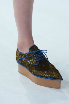 Fun shoes, Delpozo runway show 2016