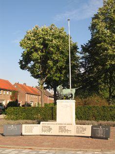 De Stier monument ter nagedachtenis van omgekomen militairen en verzetstrijders, Noord Scharwoude