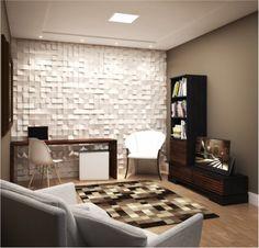 Conjunto para sala de estar / Linha Lavander - Preto com ébano escovado