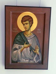 Byzantine Icons, Orthodox Christianity, Religious Icons, Orthodox Icons, Saints, Painting, Fresco, Santos, Painting Art