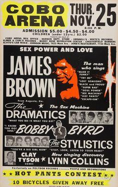 Vintage Concert Posters, Vintage Posters, Music Posters, Carnegie Hall, Madison Square Garden, Soul Singers, Old Shows, James Brown, Best Rock