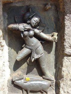 Chausathi Jogini ('Sixty-four Yogini') Temple  Hirapur, Odisha, India (via…