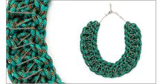 hmmmm...climbing rope necklaces?