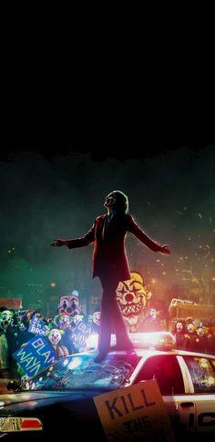 Joker with Clowns iPhone Wallpaper Joker with Clowns iPhone Wal. - Joker with Clowns iPhone Wallpaper Joker with Clowns iPhone Wallpaper Best Picture - Le Joker Batman, Batman Joker Wallpaper, Joker Iphone Wallpaper, Joker Wallpapers, Joker Art, Joker And Harley Quinn, Wallpaper Backgrounds, Iphone Wallpapers, The Joker