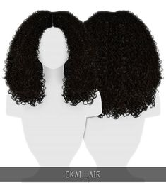 Hairstyles: Skai Hairstyle from Simpliciaty Los Sims 4 Mods, Sims 4 Game Mods, Sims 4 Cc Kids Clothing, Sims 4 Mods Clothes, Sims 4 Curly Hair, Curly Hair Styles, Afro Hair Sims 4 Cc, Vêtement Harris Tweed, The Sims 4 Skin