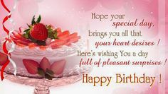 Funny Happy Birthday Wishes, Quotes and Images for friends and family. The best happy birthday wishes with beautiful pictures for people you love. Birthday Greetings Friend, Birthday Wishes For Love, Happy Birthday Quotes For Friends, Happy Birthday Wishes Quotes, Happy Birthday Flower, Happy Birthday Fun, Birthday Board, Free Birthday, Birthday Qoutes
