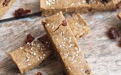 No-Bake Cherry Vanilla Protein Bars | Recipe