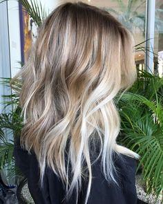 Medium To Long Choppy Hairstyle