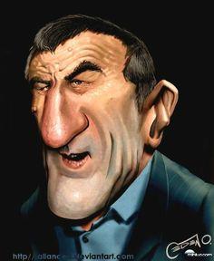 Robert De Niro caricature