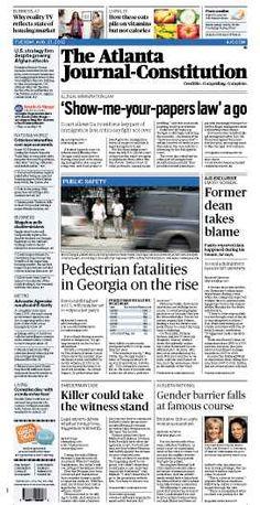 The Atlanta Journal-Constitution: August 21, 2012.