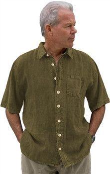 Dash Hemp Camp Cruz Button Down Shirt (Short Sleeve)