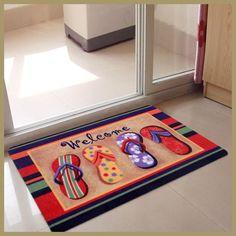 Free Shipping Color Printed Rectangle Carpet Rug BathMat Doormat For Toilet Anti-slip Alfombras Infantiles Para Habitacion Tapet