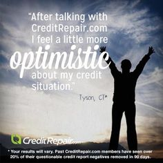 #Testimonial Tuesday!  Thanks for sharing your optimism, Tyson!