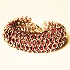 Edgy Chainmail Jewelry