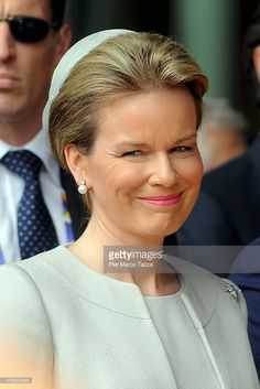 Queen Mathilde Of Belgium Visits Expo 2015 Photos and Images ...