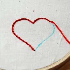 Couching is basically using one thread the sew another thread into place, so to do it you will need two lengths of thread