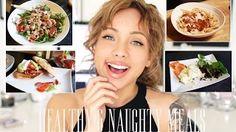 My Naughty & Healthy Meal Recipes - YouTube