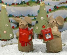 christmas mice flickr photo sharing - Christmas Mouse Decorations