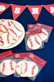 Cute baseball treat idea