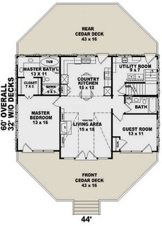 House Plan - Small Plan: Square Feet, 2 Bedrooms, 2 Bathrooms The bathroom/closet layout Like the master bath layout Needs a dining room Master Bath Layout, Small Master Bedroom, Bathroom Layout, Master Bedroom Design, Bathroom Ideas, 2 Bedroom House Design, Bathroom Organization, Bathroom Cleaning, Bath Ideas