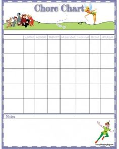 Reward Chart Template   Printable    Reward Chart