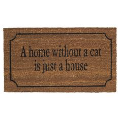 This doormat: | 12 Adorable Ways To Make Your Home Cat Friendly