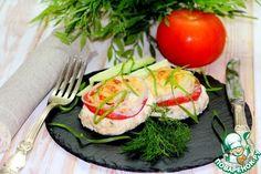 Куриные котлеты, запеченные под шубой - кулинарный рецепт