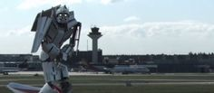 "Virales Video: ""Transformer"" landet am Flughafen Frankfurt 