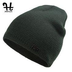 FURTALK Unisex Spring Autumn Watch Cap Woman Wool Knit Beanie Ski Cap Braided Hat skull hats for women