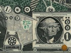 Art That's Made of Money: See how Mark Wagner makes creative things from dollar bills... like the 'Money Lisa'