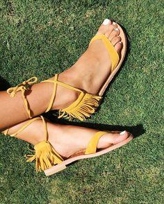 Marena Gabrielli Esperance Sandals #Anthropologie #MyAnthroPhoto